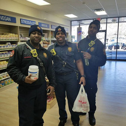 The guys from Station 15 stocking up on