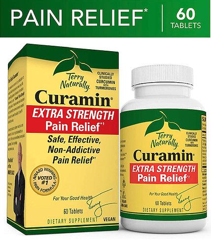 Terry Naturally Curamin Extra Strength - 120 Vegan Tablets
