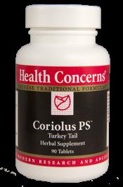 Health Concerns Coriolus PS 90 Capsules 30 Servings