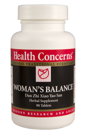 Health Concerns Woman's Balance 90 Capsules 30 Servings
