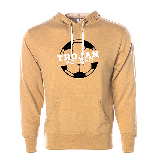 Independent Trading Co. - Unisex Midweight French Terry Hooded Sweatshirt