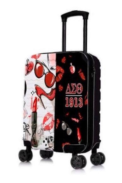 """DST 22"""" Hard Case Carry on DIVA Roller Bag"""