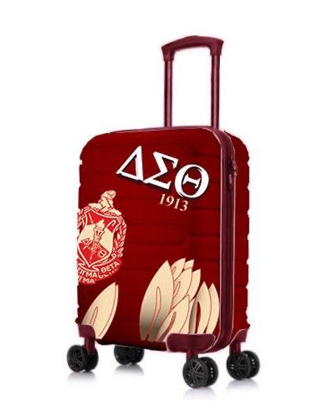 """DST 22"""" Hard Case Carry-on Roller Bag"""