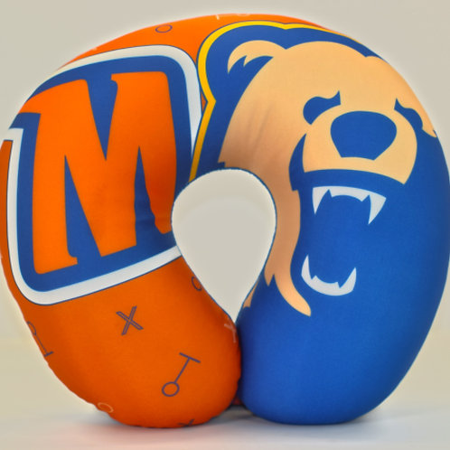 Morgan State Travel Neck Pillow