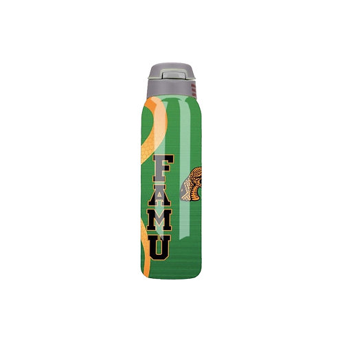 FAMU - GREEN Stainless Steel 500ml Double Vacuum Insulated Water Bottle