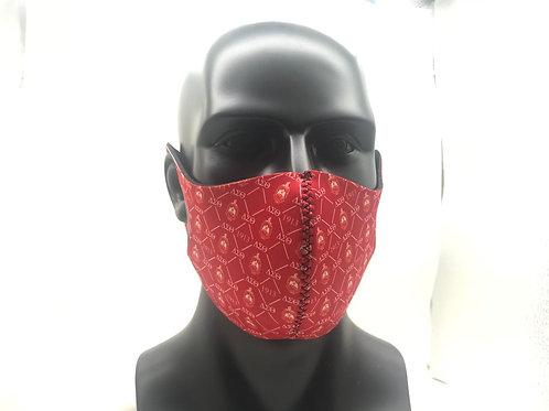 DST Reusable Sponge Face Mask (RED)