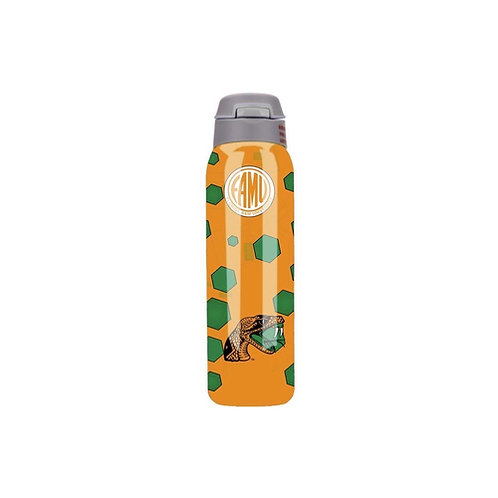 FAMU - ORANGE Stainless Steel 500ml Double Vacuum Insulated Water Bottle