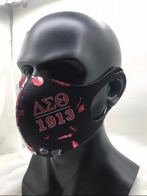 DST Diva Style Reusable Sponge Face Mask