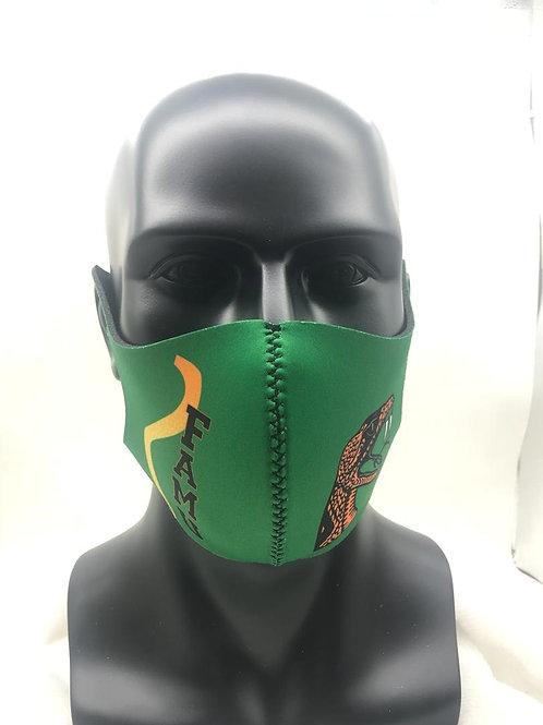 FAMU GREEN Reusable Sponge Face Mask