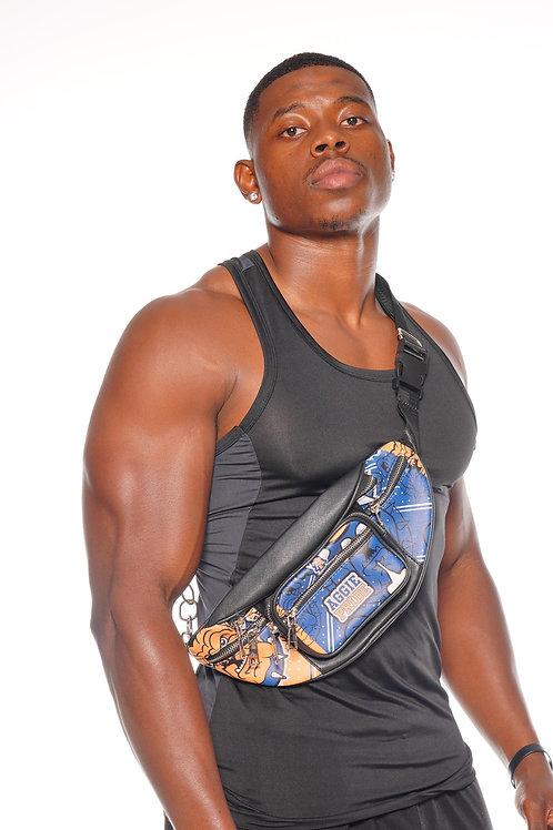 NCAT Unisex Aggie Pride Fanny Pack/Cross Body Bag (PU Leather)