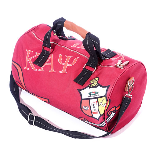 Kappa Signature Classic Canvas All Purpose Duffle Bag (FIRE)
