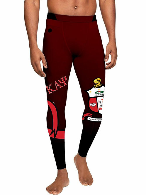 Kappa Sports Compressions Crimson (FIRE)