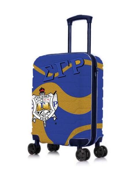 """SGRHO 22"""" Hard Case Carry-on Roller Bag"""