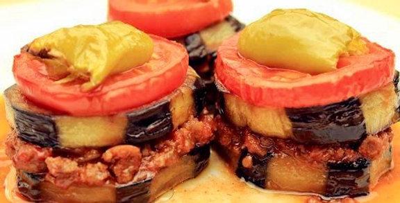 Beef Turkish Mousakka Meal