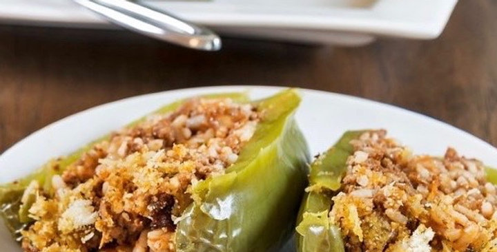Dolma Meal (Stuffed Bell Peppers)