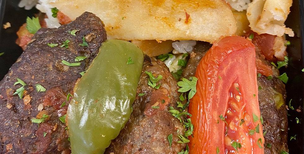 Izmir Kofte with Rice