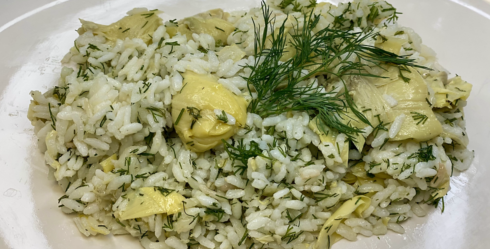 Artichokes with Rice