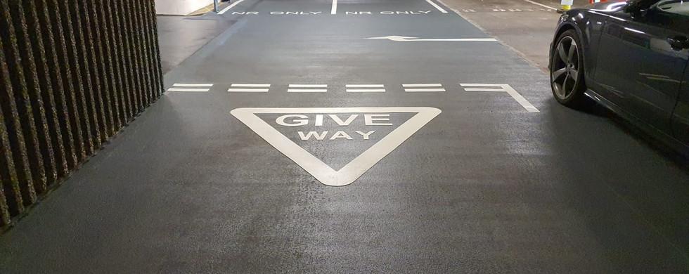 Resin Waterproofing, Car Park Line Marking, Birmingham