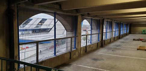 Reading Station - Mesh Panel Installations