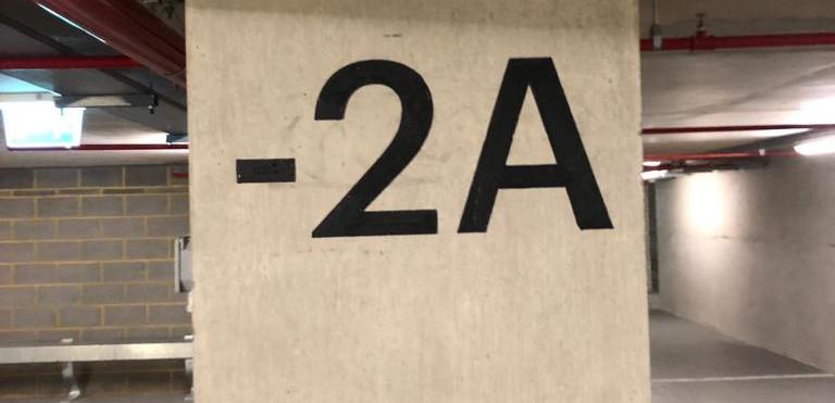 Car Park Stencilling, Bromley