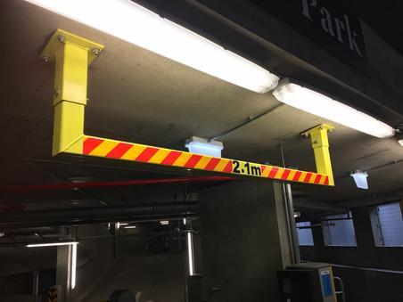 Height restriction installation, Bromley