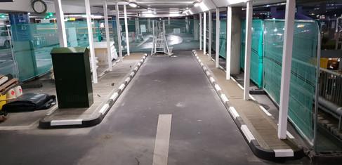 Damage Limitation Camera Installation, Heathrow