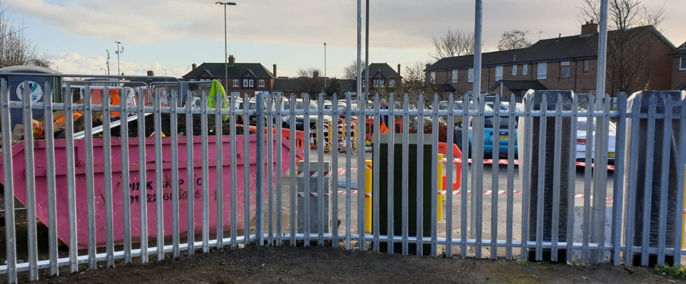 Palisade Fence Installation, Grimsby