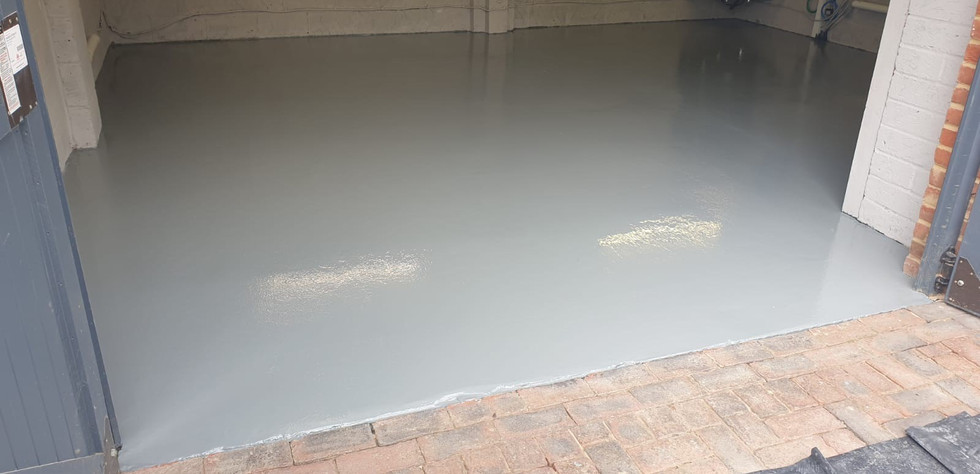 Garage Gloss Effect Resin