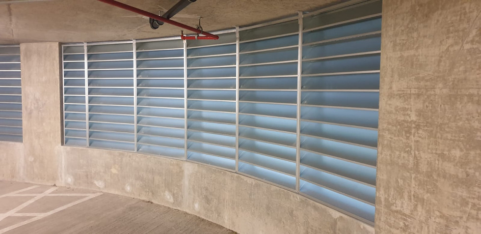 Louvres Installation