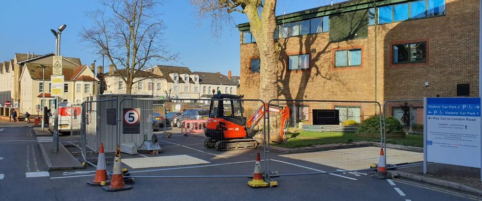 Car Park Extension,Croydon