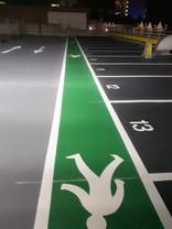 Office Car Park, Line Marking, Essex