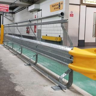 Vehicle Impact Barrier, Heathrow