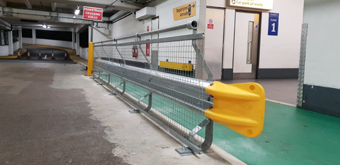 Vehicle Impact Barrier Installation, Heathrow