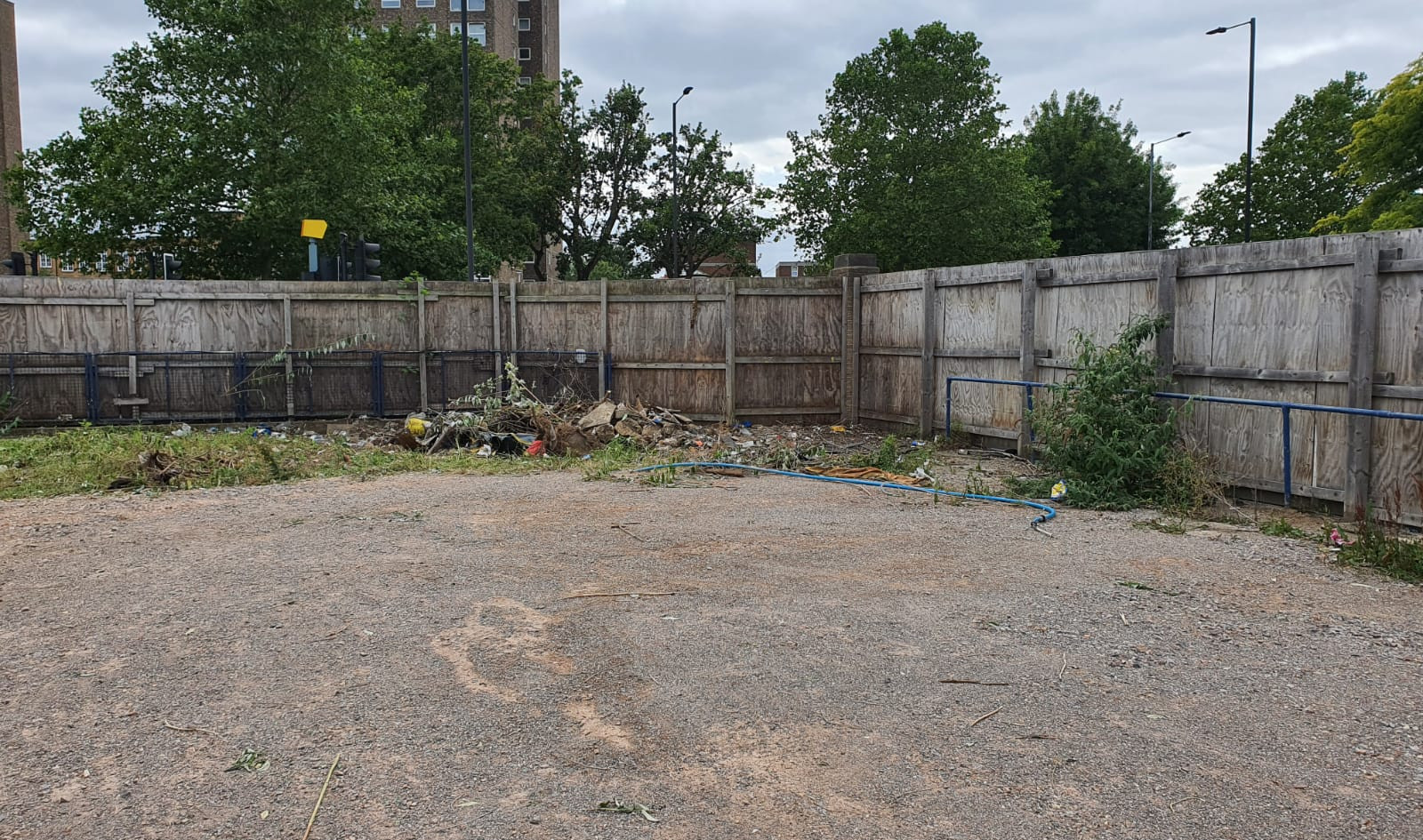 Lambeth Council Untaxed Vehicle Compound