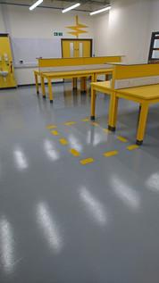 Resing Flooring