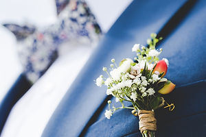 The Wallflower & Wallace - wedding buttonhole