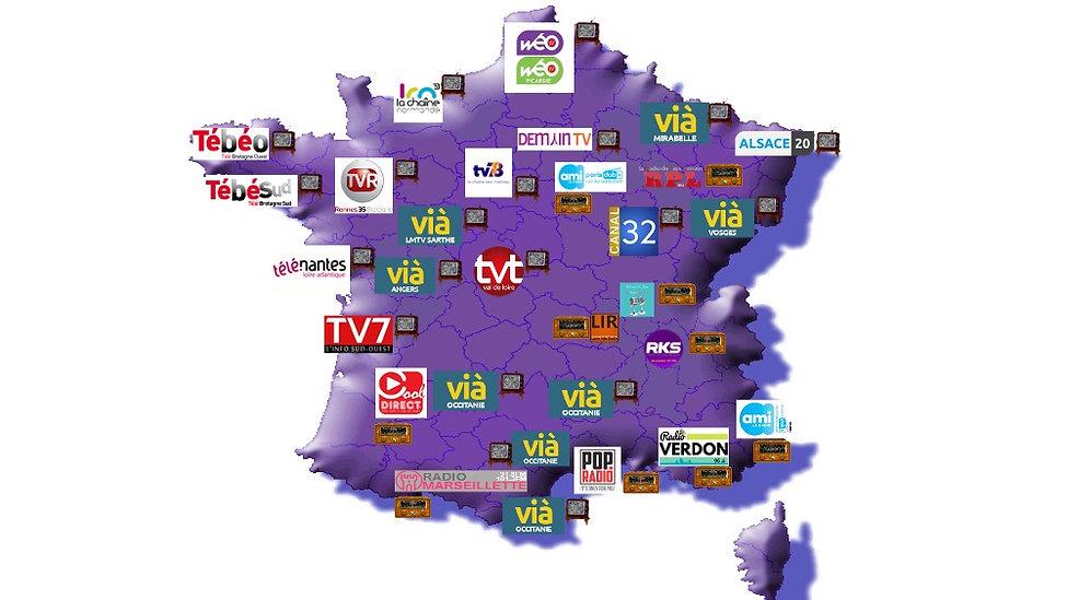 Diffusion BCDFE France TV et Radio 2020