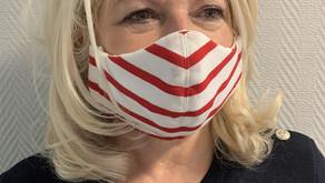 Tricots Saint-James lance un atelier de fabrication de masques en tissu