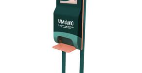 Brâam lance UMANO, le distributeur de gel hydroalcoolique 100% solidaire