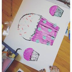 #cupcakes #frosting #birthdaycupcakes #birthday #birthdaycake #birthdayparty #gettingready
