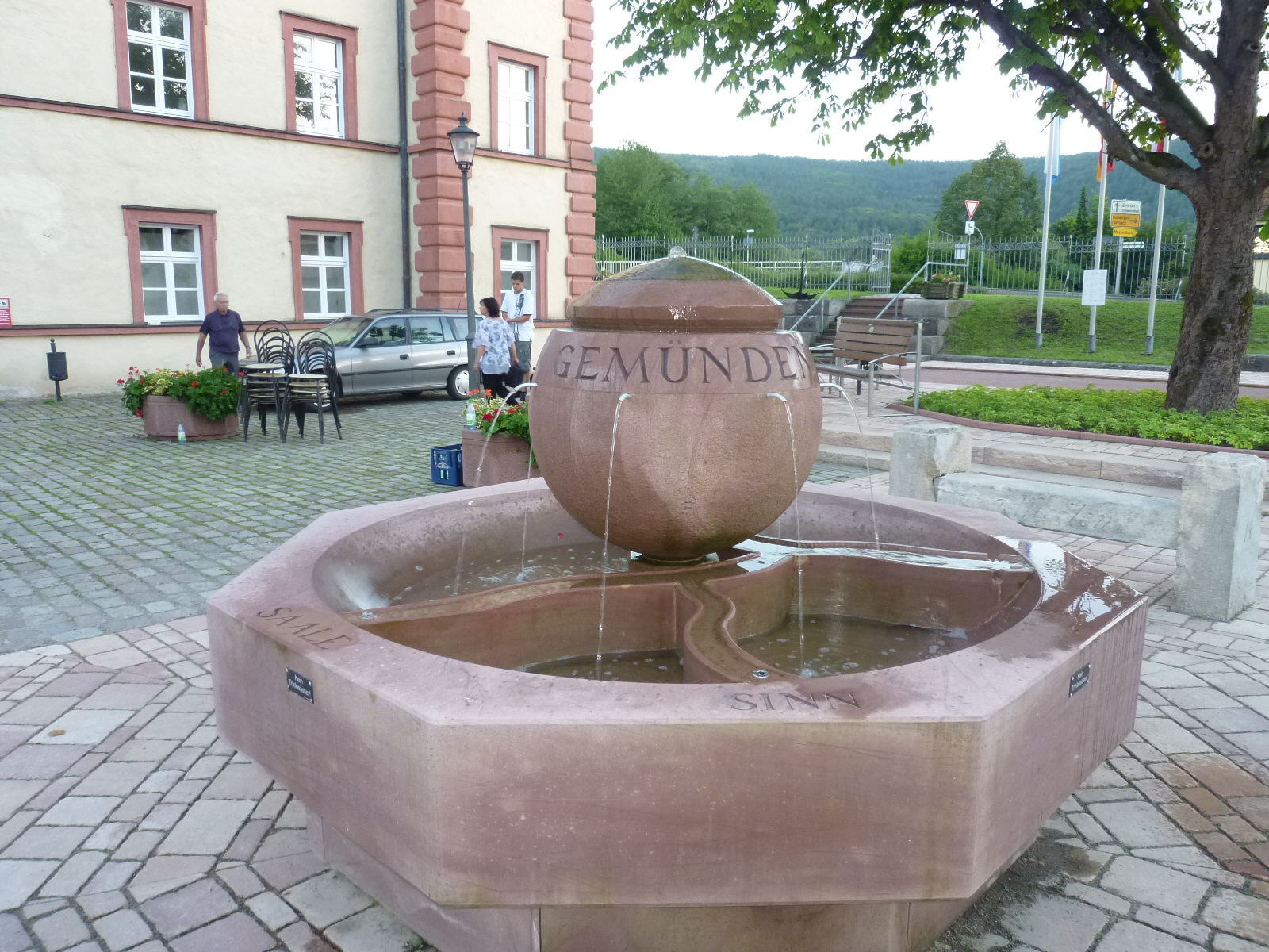 Brunnen Huttenschloss Bilder 114