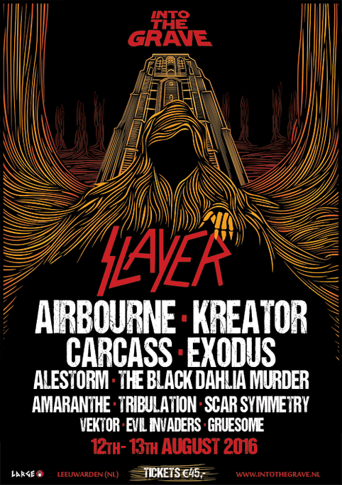 Airbourne To Play Into The Grave Festival!