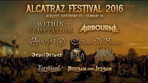 Airbourne To Play Alcatraz Festival!