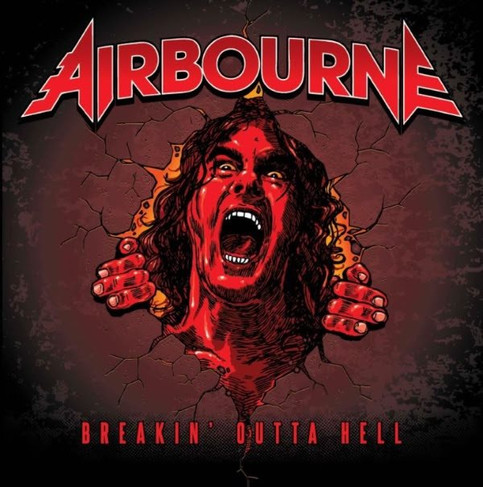 New Airbourne Single 'Breakin' Outta Hell' Streaming Now!