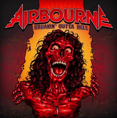 Airbourne Breakin' Outta Hell Album Art Revealed!
