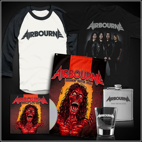 Airbourne's Breakin' Outta Hell Release Date, Pre-Sale & Track List!