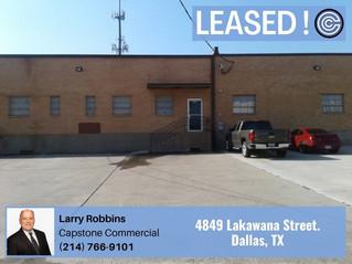 Leased - 4849 Lakawana Street, Dallas