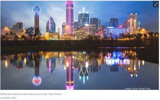 Dallas ranks as a top 'Tech Town' ahead of Seattle, Denver