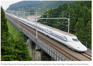 Texas Central high-speed rail project moves forward following RPA approval