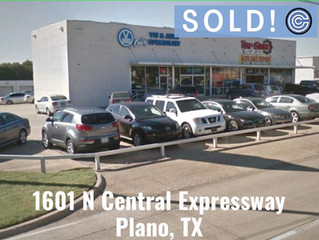 Done Deal - 1601 N Central Expressway, Plano, TX 75075